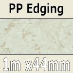 Light Marble PP Edging 1m