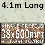 Light Marble Worktop 4100mm