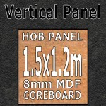 Midnight Surf Hob Panel 1500mm