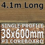 Natural Block Walnut Worktop 4100mm