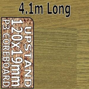 Natural Oak Block Upstand 4.1m