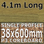 Natural Oak Block Worktop 4100mm