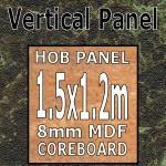 Olympus Hob Panel 1500mm