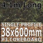 Olympus Brown Worktop 4100mm