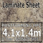 Perlato Granite Laminate Sheet 4120mm X 1400mm