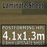 Plum Butcherblock Laminate Sheet 4100mm X 1300mm