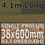 Plum Butcherblock Worktop 4100mm