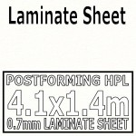 Polar White Laminate Sheet 4120mm X 1400mm
