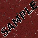 Ruby Quartz Hi-gloss Laminate Sample Polyrey Sample