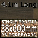 Soft Walnut Blocked Worktop 4100mm