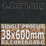 Star Black Worktop 4100mm
