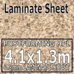 Taurus Sand Laminate Sheet 4.1 x 1.3m