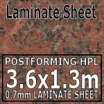 Terracotta Granite Laminate Sheet 3660mm X 1320mm