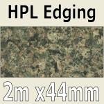 Tuscan Granite Gloss Laminate Edging 2m