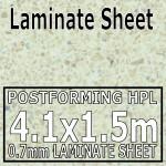 Vanilla Quartz Hi-gloss Laminate Sheet 4120mm X 1510mm