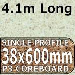 Vanilla Quartz Hi-gloss Worktop 4100mm
