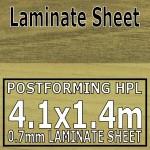 Walnut Butcher Block Laminate Sheet 4120 Mm X 1400 mm