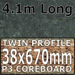 Welsh Slate Worktop Breakfast Bar 4100mm