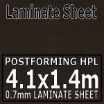 Wenge Blocked Laminate Sheet 4120mm X 1400mm