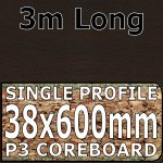Wenge Blocked Worktop 3000mm