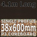 Wenge Blocked Worktop 4100mm