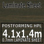 Wenge Butcher Block Laminate Sheet 4m