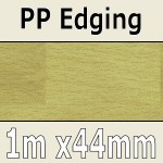 White Beech Parquet PP Edging 1m