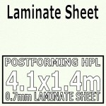 White Laminate Sheet 4m