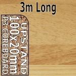 Woodmix Upstand 3m