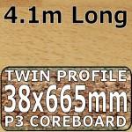 Woodmix Worktop Breakfast Bar 4100mm